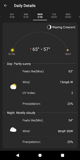 Weather App - Weather Forecast & Weather Live screenshot 11