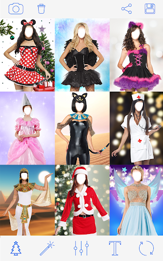 क्रिसमस वेशभूषा Photo Christmas Costumes screenshot 1
