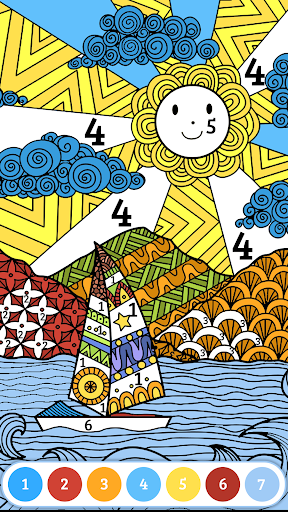 Color by number free screenshot 17