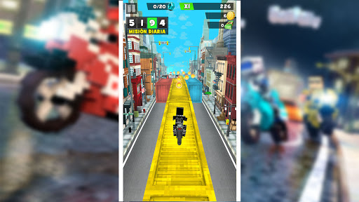 Blocky Superbikes Race Game - Motorcycle Challenge 屏幕截图 16