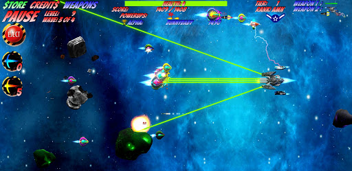 Space D-Fense screenshot 5
