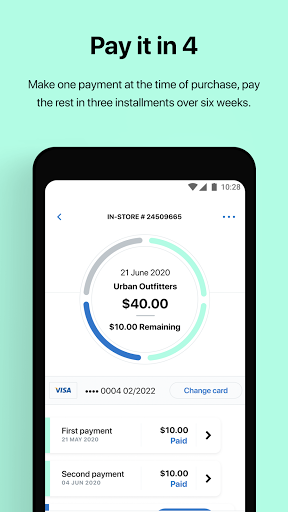 Afterpay: Buy now, pay later. Easy online shopping screenshot 3