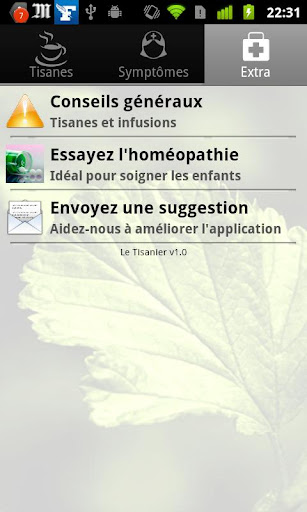 Tisanes et Infusions screenshot 4