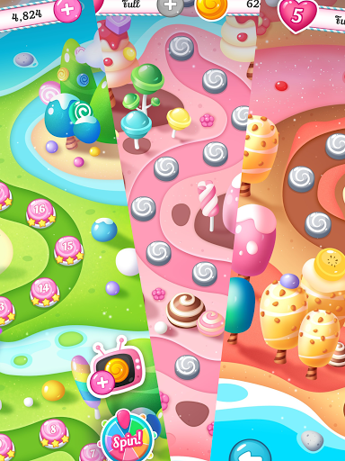 Candy Fever Saga screenshot 2