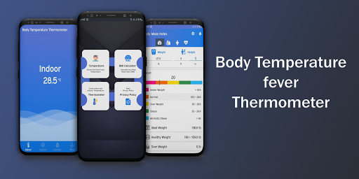 Body Temperature Fever Thermometer Records Diary screenshot 1