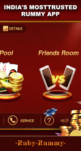 Ruby Rummy-Indian Online Free Card Game screenshot 2