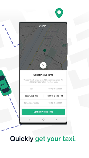 Curb - Request & Pay for Taxis screenshot 2