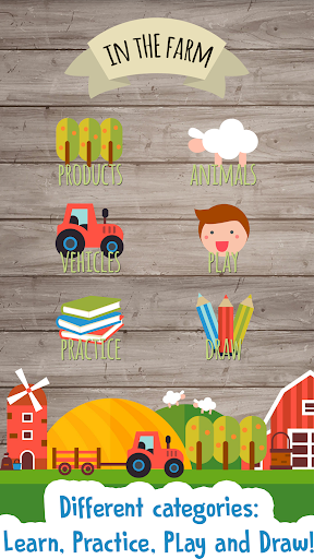 Kids Farm Game: Educational games for toddlers screenshot 1