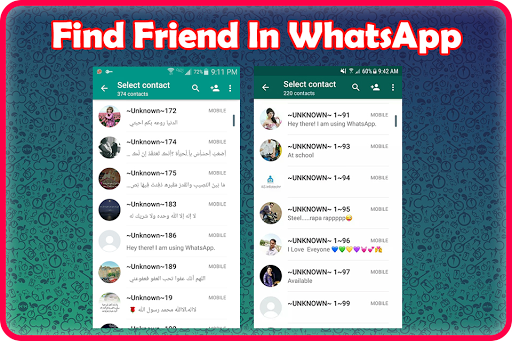 Friend Search for Chat 屏幕截图 3