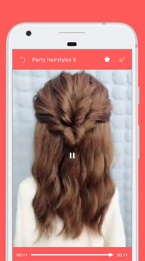 Party Hairstyle screenshot 4