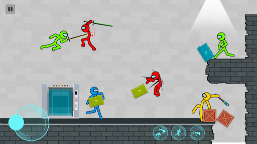 Supreme Stickman Fighting screenshot 2