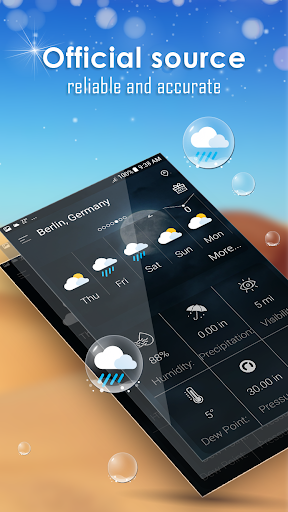 Daily weather forecast screenshot 17