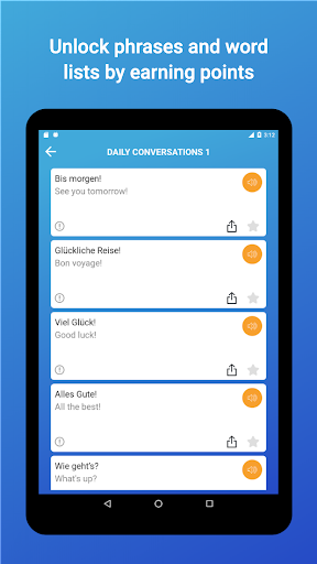 Learn German Words,Verbs,Articles with Flashcards screenshot 23