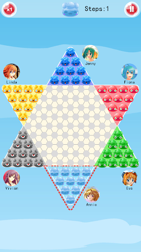 Chinese Checkers screenshot 2