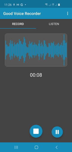 Good Voice Recorder - Sound & Audio Recorder screenshot 1