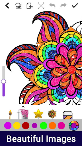 Dot to Dot to Glitter Coloring:Adult Coloring Book screenshot 5