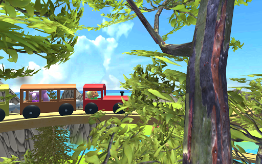 Baby Train 3D screenshot 4