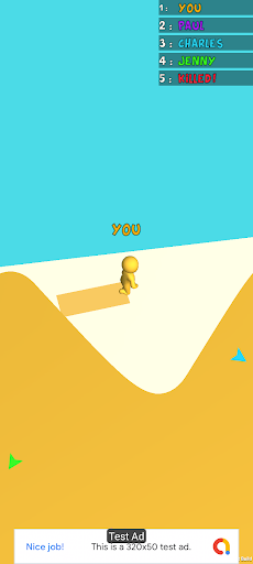 Color Man 3D Race Run screenshot 4