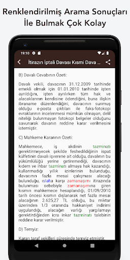 İçtihat Bülteni screenshot 3