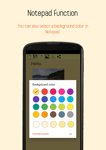 Paint and Notepad screenshot 6