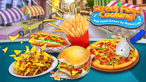 Street Food Stand Cooking Game for Girls screenshot 1