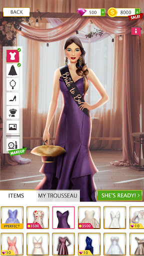 Super Wedding Stylist 2021 Dress Up & Makeup Salon screenshot 14