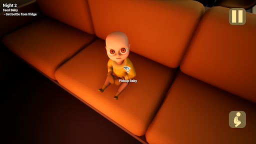 The Baby In Yellow 屏幕截图 1