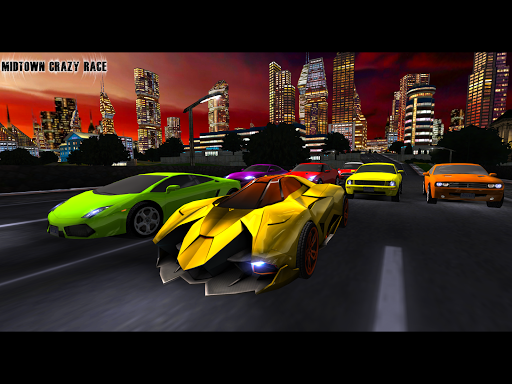MIDTOWN CRAZY RACE screenshot 1