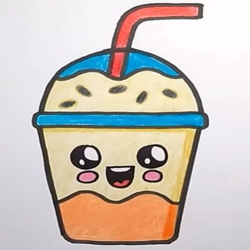 How To Draw Cute Sweet Drinks screenshot 7