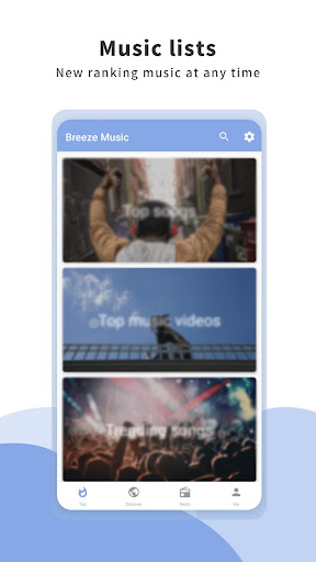 Breeze Music screenshot 1