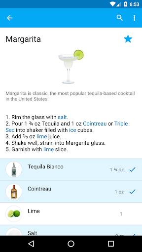 My Cocktail Bar screenshot 1