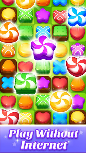 Cookie World -- Clash of Cookie & Colorful Puzzle screenshot 2