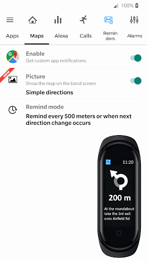 Notify & Fitness for Mi Band 屏幕截图 4