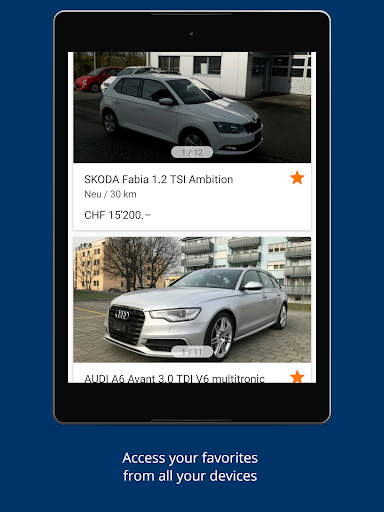 AutoScout24 Switzerland - Find your new car screenshot 12
