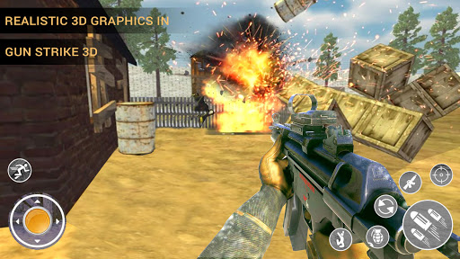 Gun Strike 3d Shooter screenshot 1
