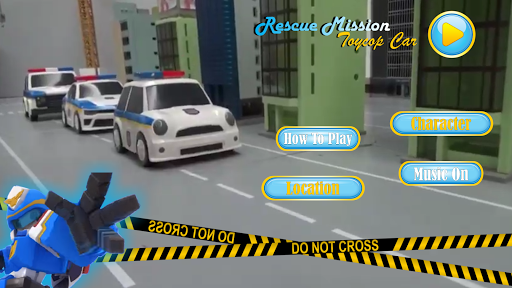 Rescue Mission Toy Police Car screenshot 2