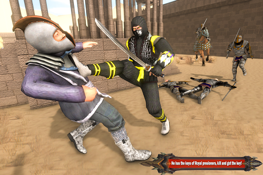 Superhero Ninja Arashi with Samurai Assassin Hero screenshot 12