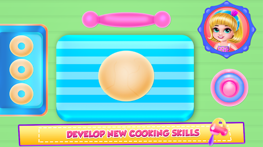 Ice Cream Donuts Cooking screenshot 2