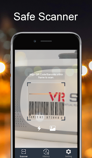 Safe Scanner-best QR code reader, Barcode scanner screenshot 2