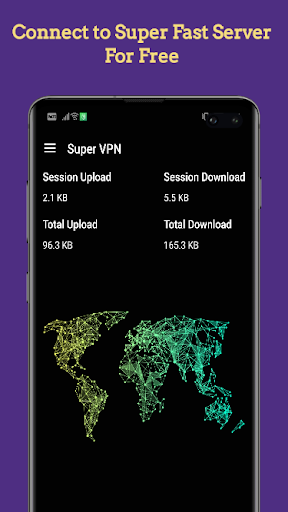 Free Super VPN screenshot 1