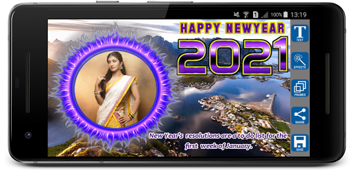 2021 Newyear Photo Frames screenshot 6