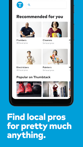 Thumbtack Book pros screenshot 1