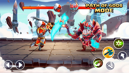 Tiny Gladiators 2: Heroes Duels - RPG Battle Arena screenshot 1