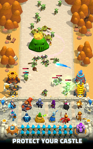 Wild Castle TD screenshot 1