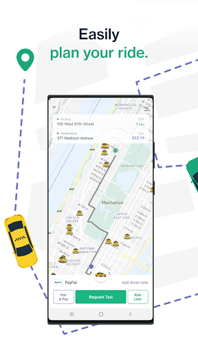 Curb - Request & Pay for Taxis screenshot 1