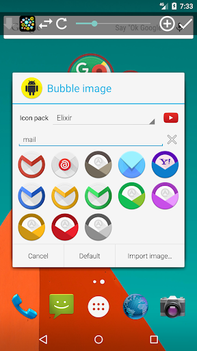 Bubble Cloud Widgets + Folders for phones/tablets screenshot 15