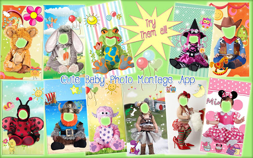 Cute Baby Photo Montage App 👶 Costume for Kids screenshot 14