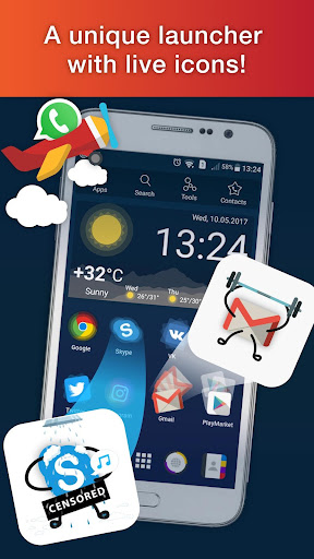 Launcher Live Icons for Android screenshot 1