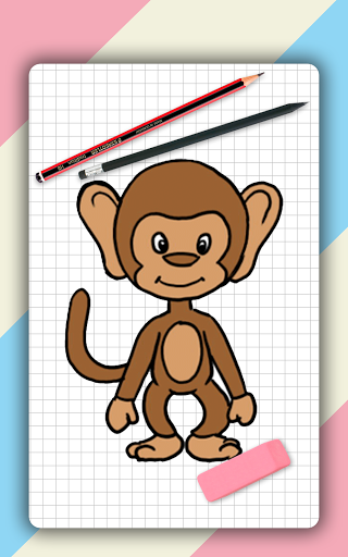 How to draw cute animals step by step, lessons screenshot 12