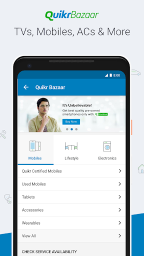 Quikr - Search Jobs, Mobiles, Cars, Home Services screenshot 4